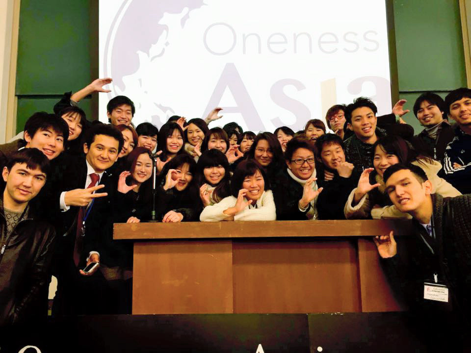 アジア学生サミットでのグループ写真