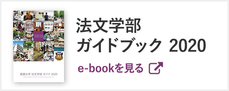 法文学部ガイドブック2020